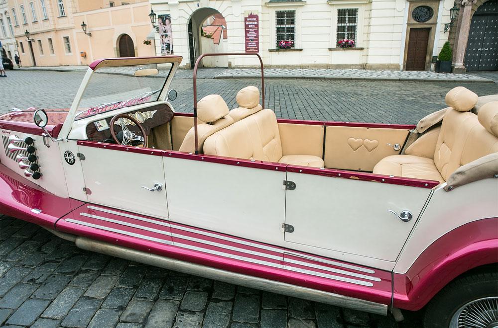 Historický Cabriolet - Alfa Romeo Spider