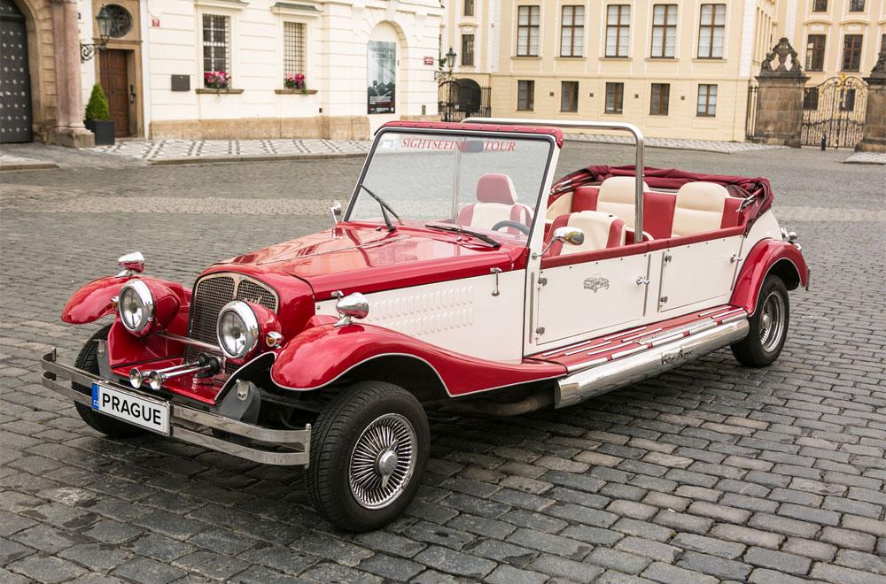 Historický kabriolet - Alfa Romeo Spider