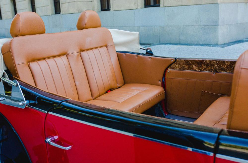 Historický Cabriolet - Mercedes Benz 770