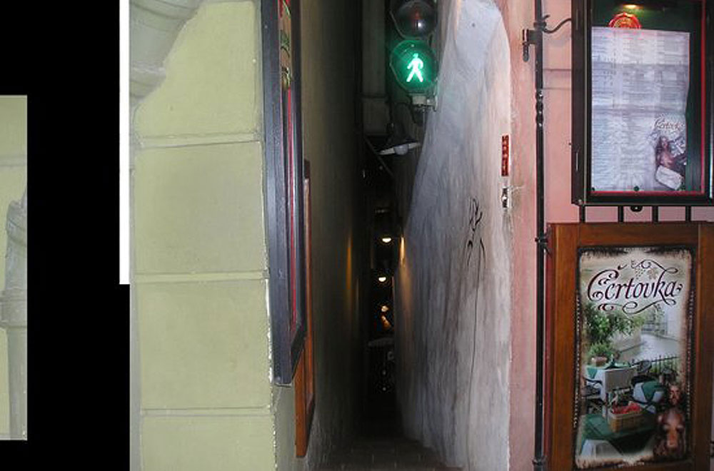 The narrowest aisle